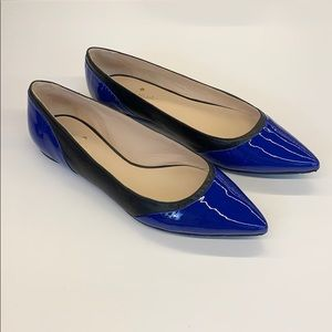 Kate Spade Patent And Leather Flats